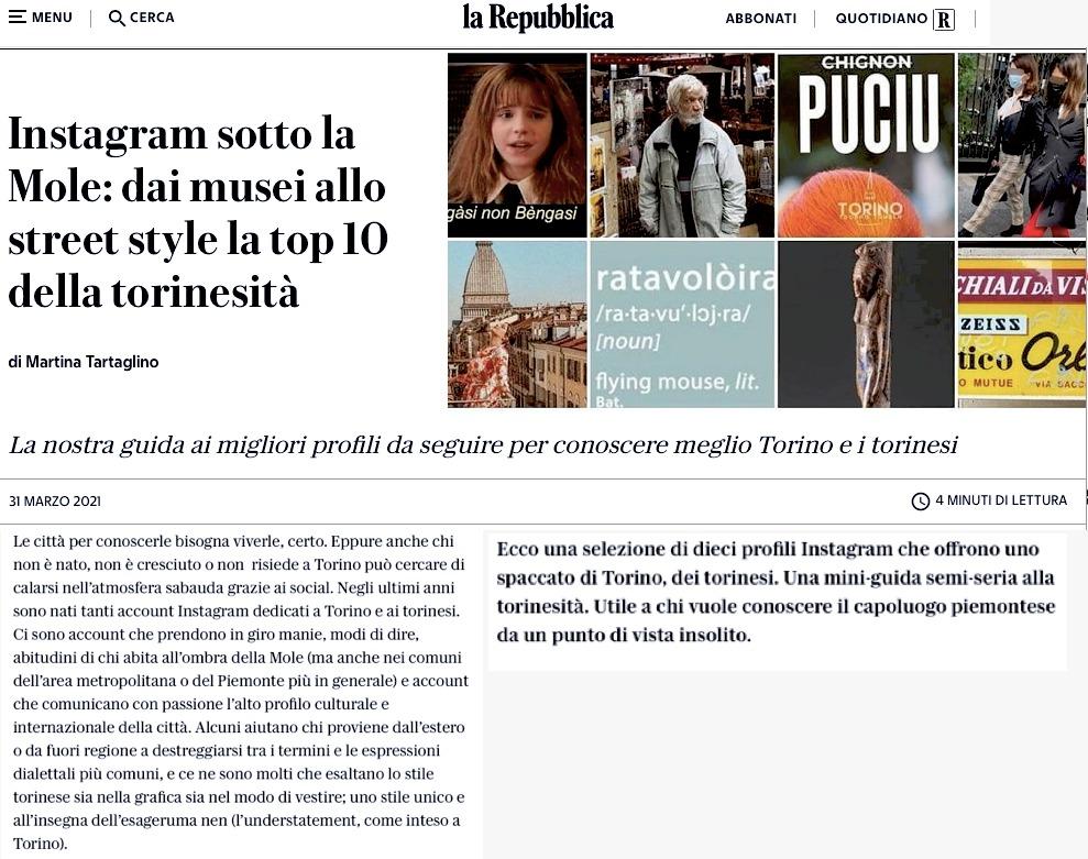 La Repubblica Balon Torino