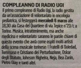 Compleanno Radio UGI